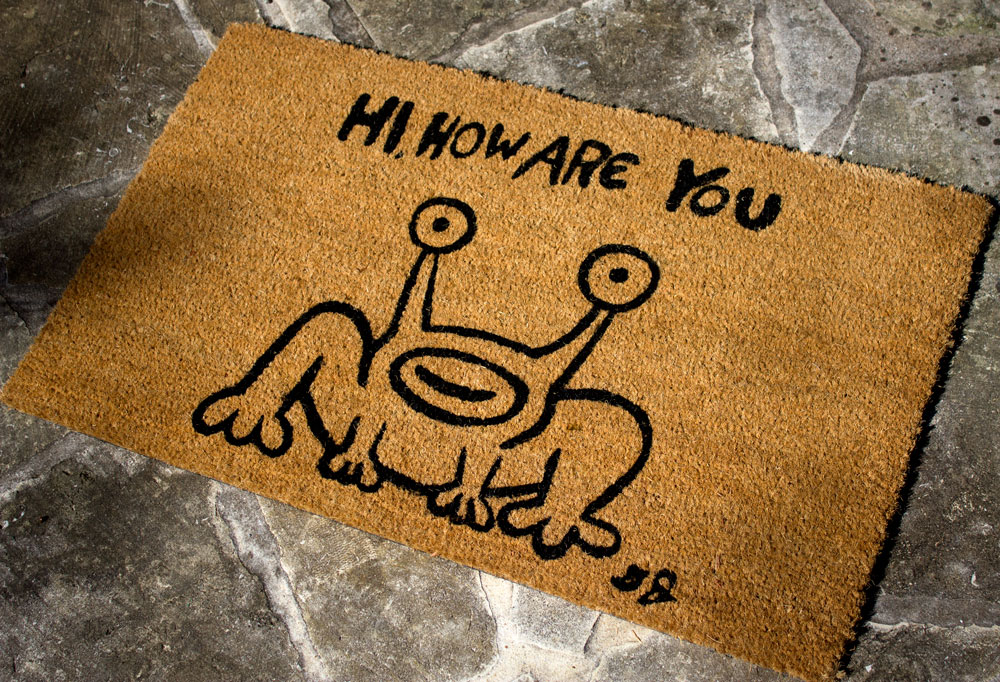 """Hi How Are You"" Frog by Daniel Johnston"